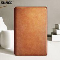 étui portefeuille livre achat en gros de-Xundd Etui portefeuille en cuir de luxe pour iPad Pro 10.5 pouces 2017 Etui Flip Book pour iPad 9.7