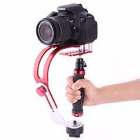 dslr el sabitleyici toptan satış-El Sabitleyici Gimbal Gopro DSLR SLR Dijital Kamera için Spor DV Alüminyum Alaşım estabilizador de kamera DSLR Evrensel