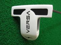 putter de golfe versa venda por atacado-Clubes de golfe de alta qualidade Versa 2 putters bola de golfe com eixo de aço e putters capa de cabeça frete grátis