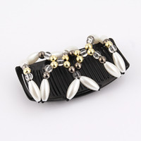 Wholesale animals lists online - Fashion hair accessory new product listing korean style handmade beaded top selling custom hair comb