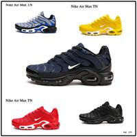 лучшие цены кроссовки оптовых-Designer shoes men women Nike AIR MAX Tuned 1 Mercurial Plus Tn Ultra SE кроссовки, женская мужская хорошая цена местная обувь для продажи магазин, лучшие мужские спортивные