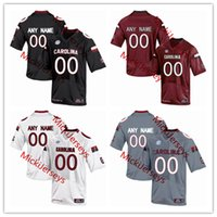 south carolina gamecocks venda por atacado-Camisa NCAA South Carolina Gamecocks Futebol Masculina 19 Jake Bentley 1 Deebo Samuel 89 Bryan Edwards 78 Zack Bailey 8 D.J. Wonnum Jersey