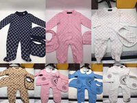 Wholesale infant boys preppy clothes for sale - Group buy baby boy clothe rompers month infant baby girl dress clothes set organic cotton clothing set spring new arrival infant clothes