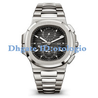 Wholesale watches waterproof stopwatch resale online - 2020 Watches Chronograph Stopwatch Mens Watches Cool Waterproof Wristwatches Calendar VK64 Fashion Business Men Wristwatches