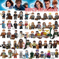 Wholesale harry potter blocks for sale - Group buy Figures Fantastic Beasts Rubeus Dobby Hagrid Seamus Finnigan Hermione Moody Harry Potter building Block friend Gift Toy