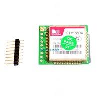 mini gsm anteni toptan satış-Mini GPRS GSM modülü SIM900A Kablosuz Uzatma Modülü Kurulu Anten SIM800L A6 A7 SIM800C için Dünya Çapında Mağaza Test