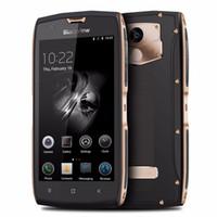 teléfono móvil del teléfono celular 32g al por mayor-Blackview BV7000 Pro 5.0 pulgadas 4G Smartphone MTK6750 Octa Core 8.0MP + 13.0MP Teléfono celular 4GB RAM 64GB ROM Teléfono móvil a prueba de agua