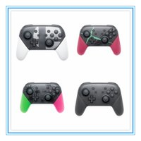 Wholesale sensing switch resale online - 2019 Bluetooth wireless gamepad controller With vibration sense suitable for SWITCH console game controller controller controller DHL