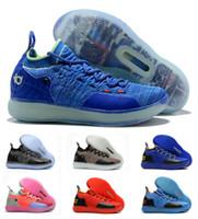 3dd49cced312 Wholesale boys kd shoes online - Hot Boys Kids Kevin Durant KD S Multi  Color KD11