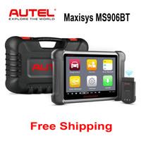 obd2 wlan toptan satış-Autel Maxisys MS906BT MS906 Yükseltilmiş Versiyonu DS708 DS808 OBD2 Bluetooth Otomatik Teşhis Tarayıcı ECU Kodlama Kod Okuyucu OBDII Tarama Aracı