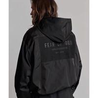 kat hazırlama toptan satış-Tanrı FOG korkusu Terzilik Ceket Erkek Tasarımcı Ceketler Yüksek Kalite Bayan Çift Lüks Ceket Siyah Moda Ceket Hoodies HFSSJK174