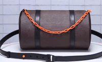 вешалка для цветов оптовых-Мужчины и женщины со старым цветочным цилиндром диагональная сумка на кисточке подвесная цепочка барабанная сумка спортивная фитнес светлая тисненая подушка сумка