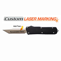 Wholesale laser knives for sale - Group buy Personalized Laser Engraved D A Tanto Knife CNC D2 blade EDC tactical knives Christmas Gifts Groomsmen Gifts Anniversary Gifts for Men