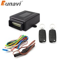 Wholesale keyless entry system door for sale - Group buy Eunavi V New Universal Car Auto Remote Central Kit Door Lock Locking Vehicle Keyless Entry System hot selling
