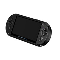 Wholesale cans mp3 resale online - New hot Coolbaby X9 inch Large Screen LCD G Handheld Retro Game Console Can store Games Video MP3 Player for GBA NES Game Player