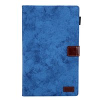 ipad elegante cubierta de pliegues al por mayor-Tableta Sólida PU Funda de cuero Estuche para tarjetas para Ipad Smart Cover Auto Wake Case Smart Folding Funda para Galaxy Tab A 10.1 '' T510