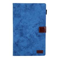 galaxy tab smart cover fold achat en gros de-Tablette solide PU Porte-cartes en cuir pour iPad Smart Cover Wake Case Smart Case pliable Fashional pour Galaxy Tab A 10.1 '' T510
