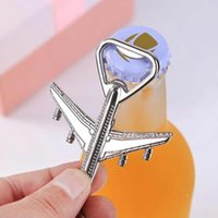 Wholesale bottle opener keychain wedding favors for sale - Group buy Aircraft Keychain Beer Opener Airplane Keychain Beer Bottle Opener Keyring Birthday Wedding Party Favors Airplane Keychain Openers ZZA1832