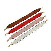 ingrosso borse a mano bianca-52cm cinturino in pelle parti di ricambio rosso / rosa / bianco maniglie fatte a mano fai da te per borse a spalla donna accessori