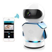 ingrosso telecamere ip wireless piccolo-Wireless robot wifi wireless milioni di telecamere ad alta definizione di monitoraggio della rete domestica di monitoraggio remoto wireless per la sicurezza domestica