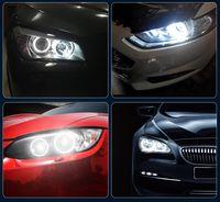 araba için kırmızı farlar toptan satış-Fabrika Çıkışı İçin BMW Melek Göz E39 5W LED Araç Işık Far Dekorasyon Işık Ücretsiz Kargo Modifiye