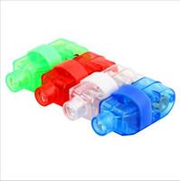 сигнальный фонарь оптовых-1000шт продажи производители светодиодная лампа пальцем LED кольцо перста свет свечение лазерные пучки пальцев вечеринка Flash-Kid игрушки 4 светодиодный проблесковый кольцо цвета