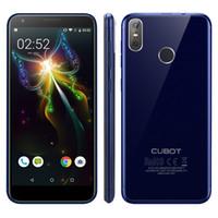 cubot phone großhandel-CUBOT R11 3G Handy Android 8.1 MTK6580 Quadcore Fingerprint Alle 5,5-Zoll-2 + 16-GB-Dual-Rear-Cameras13 + 2MP-Mobiltelefon