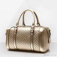 el çantası deri orijinal markalı toptan satış-Kadın Deri Kompozit çanta Gerçek Hakiki deri Çanta Kadın Bağbozumu El çantası Markaları Bayanlar Siyah Omuz çantası