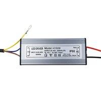 ip66 led sürücüsü toptan satış-LED Sürücü 10 W 20 W 30 W 50 W 300mA / 600MA / 900MA / 1500MA Güç Kaynağı Işıklandırmalı LED Sürücü ışık Trafosu IP66 Su Geçirmez Adaptörü SY0220