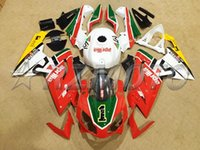 Wholesale aprilia rs 125 fairing set resale online - New ABS Motorcycle Fairing kit Tank cover Fit for Aprilia RS125 RS Fairings set red green