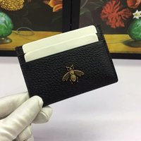 Wholesale credit card case wallet for sale - Group buy luxury card holder Genuine Leather Passport Cover ID Business Card Holder Travel Credit Wallet for Men Purse Case Driving License Bag Thin