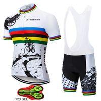 x desgaste dos homens venda por atacado-X-CQREG dos homens de ciclismo Jerseys 2018 roupas Ropa ciclismo Hombre MTB Maillot ciclismo / verão Road Bike Wear roupas ciclismo equipe