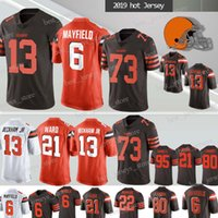 new styles c41ed df50a Wholesale Jarvis Landry Jersey for Resale - Group Buy Cheap ...