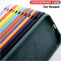 Wholesale mate 20 lite case online – custom Shockproof Case For Huawei P20 P30 Mate Lite Pro Liquid Silicone Phone Case For Huawei Mate Pro P smart Back Cover