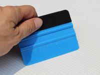 синий стикер 3м оптовых-3M Ракель Войлок Ракель Виниловая Пленка Wrap Blue Scraper Tools Наклейка для машины Инструменты Авто Модификация Синий Авто Аксессуары для мобильных экранов