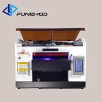 Wholesale inkjet uv printer for sale - Group buy A3 uv flatbed printer CMYKWW colors tube Multi funcation skateboard cell phone case printing machine