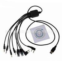 ingrosso cavo di programmazione icom usb-Quevinal DHL o dallo SME 50pcs 2018 NUOVO 8 in 1 USB cavo di programmazione per Kenwood baofeng Motorola yaesu per Icom Handy walkie talkie