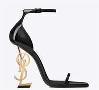 hoch mary janes großhandel-Luxus Ferse Designer Hochzeit Schuhe Frauen Sexy High Heel Sandalen slingbacks designer gladiator sandalen high heels pumps Schuhe