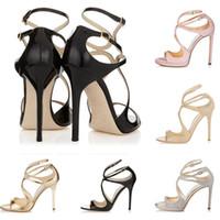 белые сандалии для девочек оптовых-Женские дизайнерские сандалии So Kate Styles Fashion Luxury девушка на высоких каблуках 10 см 12 см LANCE черный розовый белое золото Серебристый кожаный размер точки 35-42