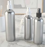 ingrosso bottiglie di profumo di alluminio spray-Spray Bottiglia di profumo Viaggio ricaricabile Contenitore cosmetico vuoto Bottiglia di profumo Atomizzatore Bottiglie di alluminio portatili Bottiglie da imballaggio GGA1921