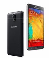 notiz freischalten wifi großhandel-Entsperrt Original Samsung Galaxy Note 3 N900A N9005 Handy Quad Core RAM 3 GB 13MP WiFi GPS Refurbished 16 GB / 32 GB Telefon