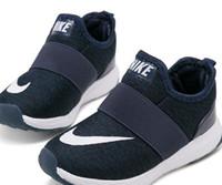 meninos de 12 anos venda por atacado-Moda Crianças Meninos Meninas sapatos Sneakers malha respirável Sports Plano Correndo Athletic Shoes infantil 4 cores Idade transporte da gota F1