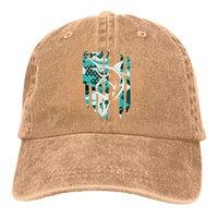 2019 New Designer Baseball Caps American Flag Marlin Billfish Mens Cotton  Adjustable Washed Twill Baseball Cap Hat 03872bc1a458