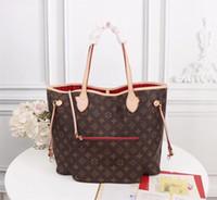 bordado de cuentas chino al por mayor-2019 nuevos Ladies'shopping bags 32cm Top bolso de mano de cuero envío gratis 40995