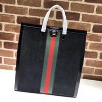 Wholesale deerskin leather bags resale online - Luxury Quality Top Brand Design Letter Ribbon Metal Buckle Shoulder Bag Deerskin Whide Leather Woman Xl Tote Handbag