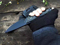Wholesale full tang fixed blade for sale - Group buy Special Offer Tad Survival Straight Knife A2 Black Titanium Coated Blade Full Tang G10 Handle Fixed Blade Knives With Kydex