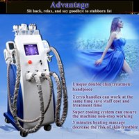 Wholesale rf face fat resale online - 2019 new fat freeze lipo laser machine cavitation rf body slimming face lift fat freeze weight loss equipment