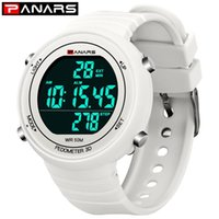 Wholesale electronic steps for sale - Group buy Panars Multi functional Cool Fashion Sports Students Electronic Watch D Step Count Night Light Waterproof Electronic Watch