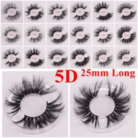 16258ba0159 Long Dramatic Mink Lashes 3D Mink Eyelash 5D 25mm Long Thick Mink Lashes  Handmade False Eyelash Eye Makeup Maquiagem LD Series 15 Styles
