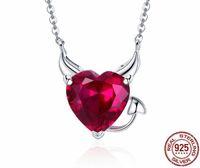kabuk takı tasarımları toptan satış-SN1 Zarif Tasarım Kalp Kolye Kadınlar için Beş Kalp Aşk Kolye Kolye Kız Arkadaşı için 925 Gümüş Düğün Takı Hediye